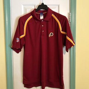 Washington redskins NFL team apparel polo shirt